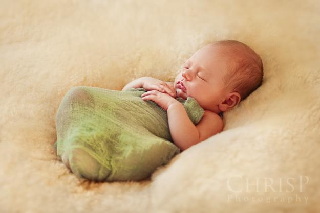 Neugeborenenfoto von Babyfotograf ChrisP Photography