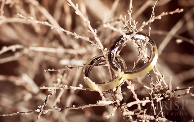 Foto von Hochzeitsringen von Hochzeitsfotografin ChrisP Photography