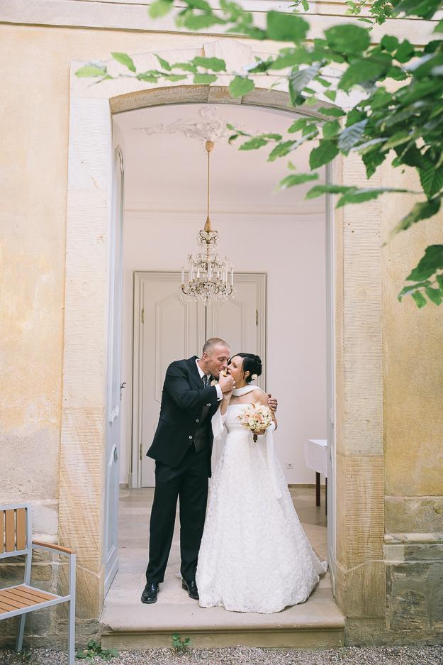 Hochzeitreportage Rosengarten Altenburg Bamberg