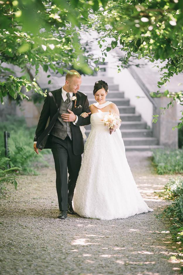 Hochzeitsreportage auf der Altenburg und im Rosengarten Bamberg