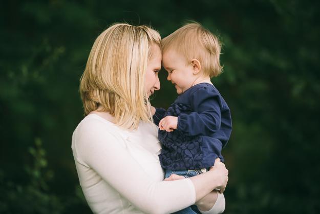 Mutter mit Tochter - Foto von Fotograf ChrisP Photography
