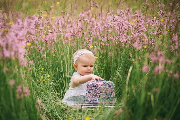 Babyfotos zum ersten Geburtstag von Fotograf in Bamberg