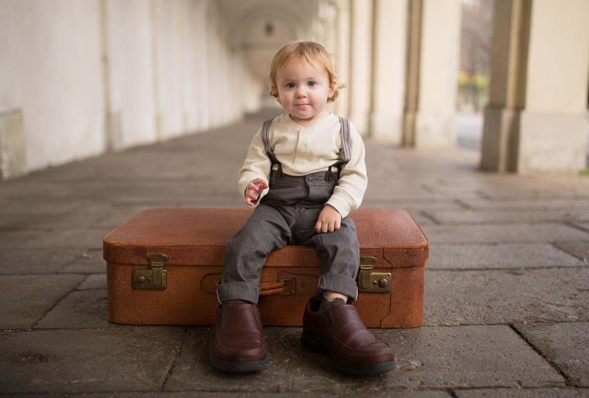 Babyfotos in Vicenza, Italien