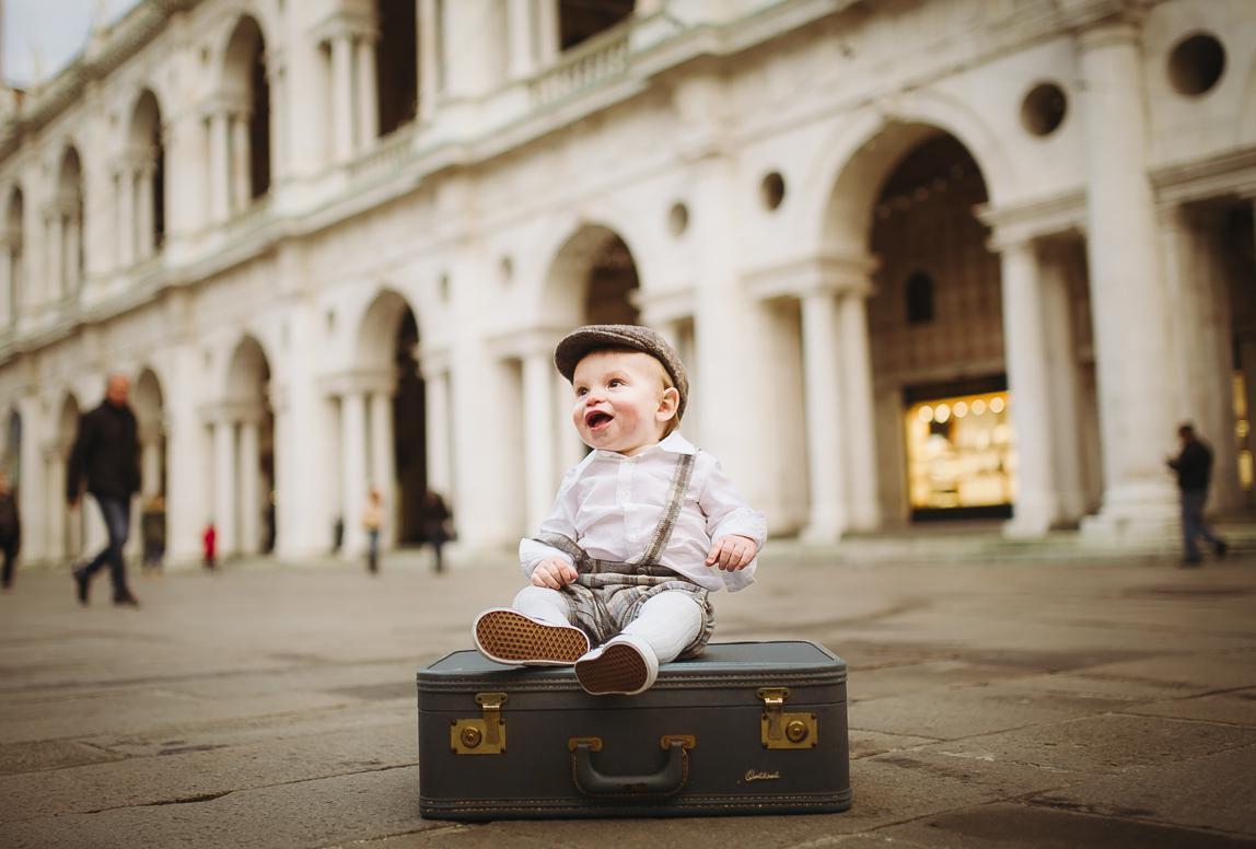 besondere Babyfotos in Vicenza, Italien
