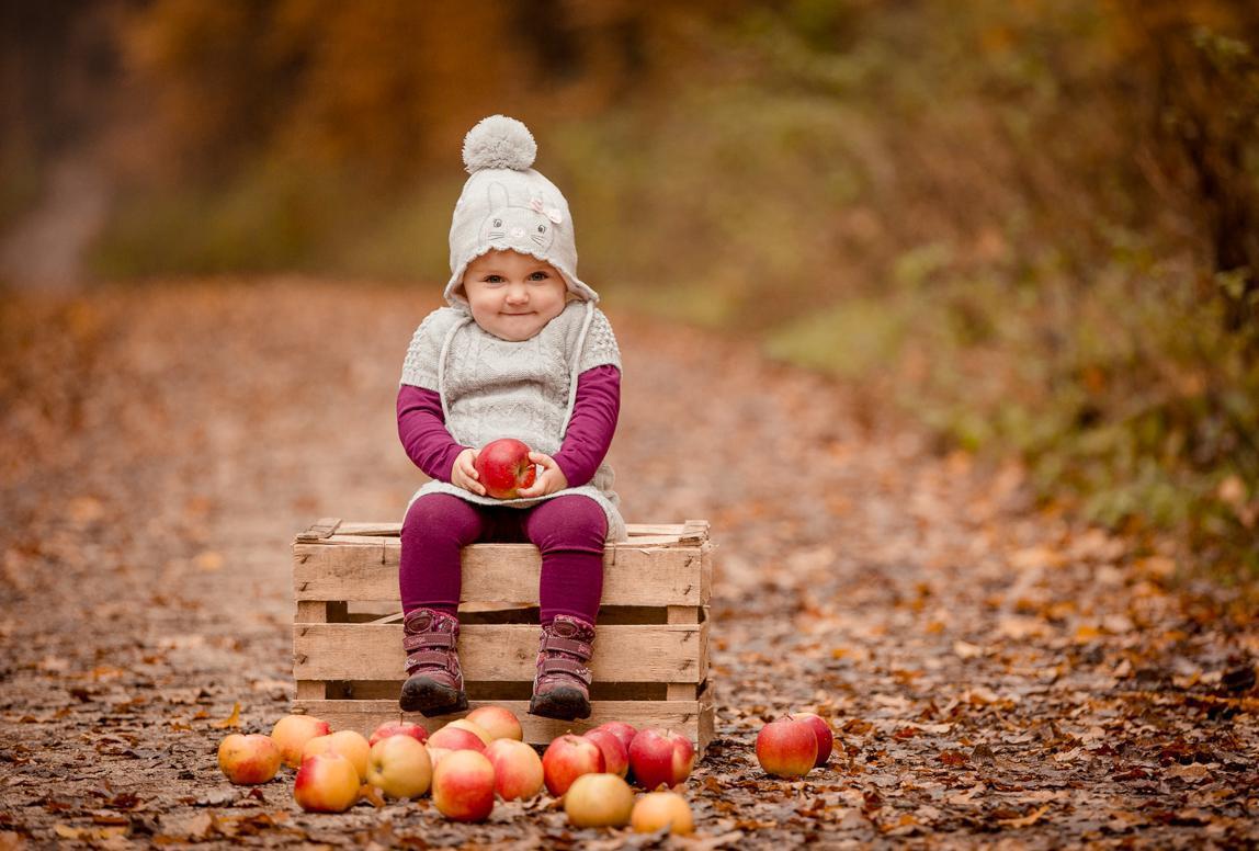 Kinderfoto in der Natur