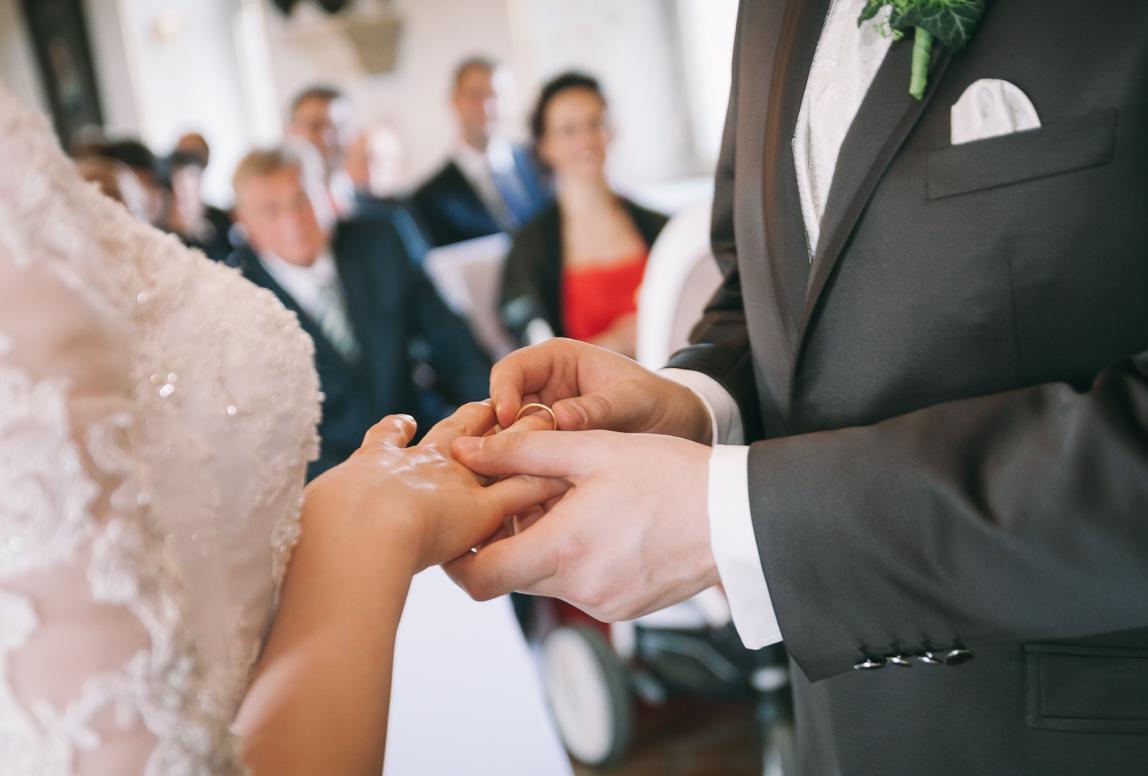 hochzeitsfotograf bamberg - Ringewechsel Hochzeit