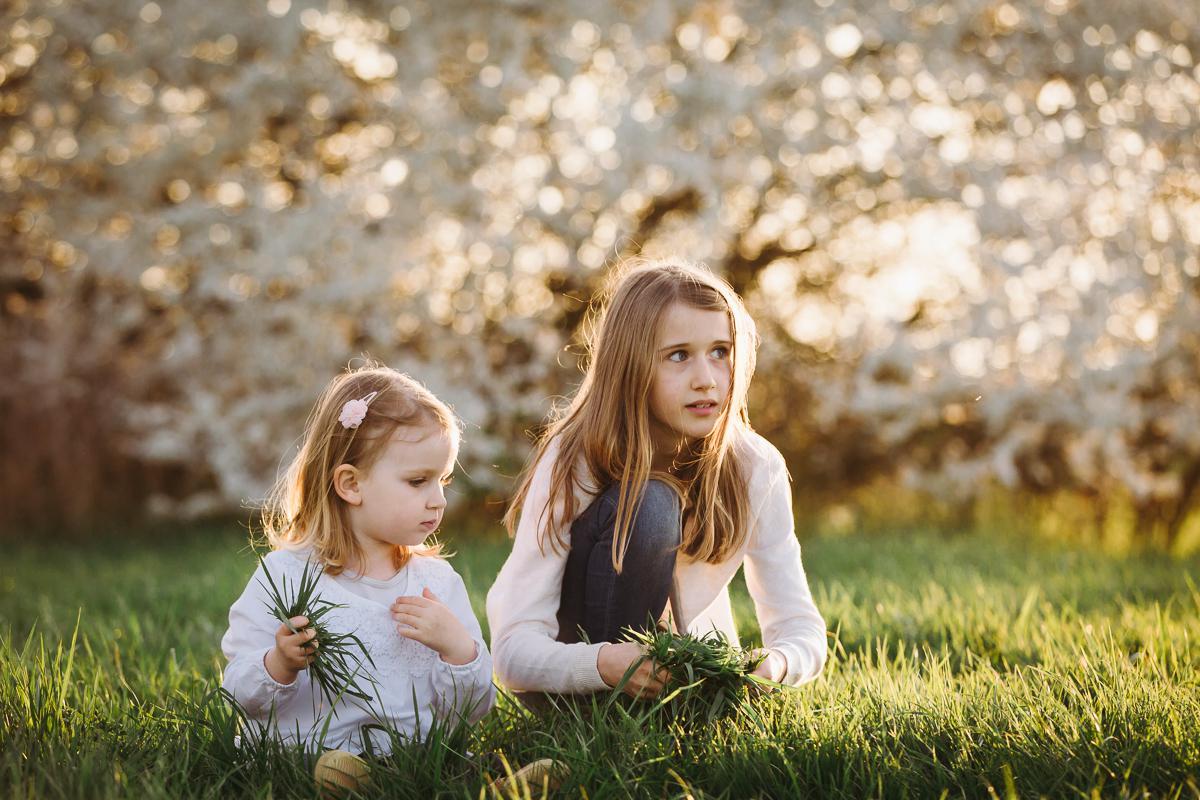 fotograf für familienfotos in bamberg - geschwister am spielen