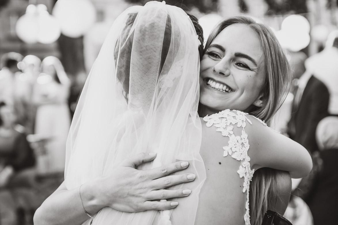 Hochzeitsreportage - Momentaufnahmen bei Gratulation