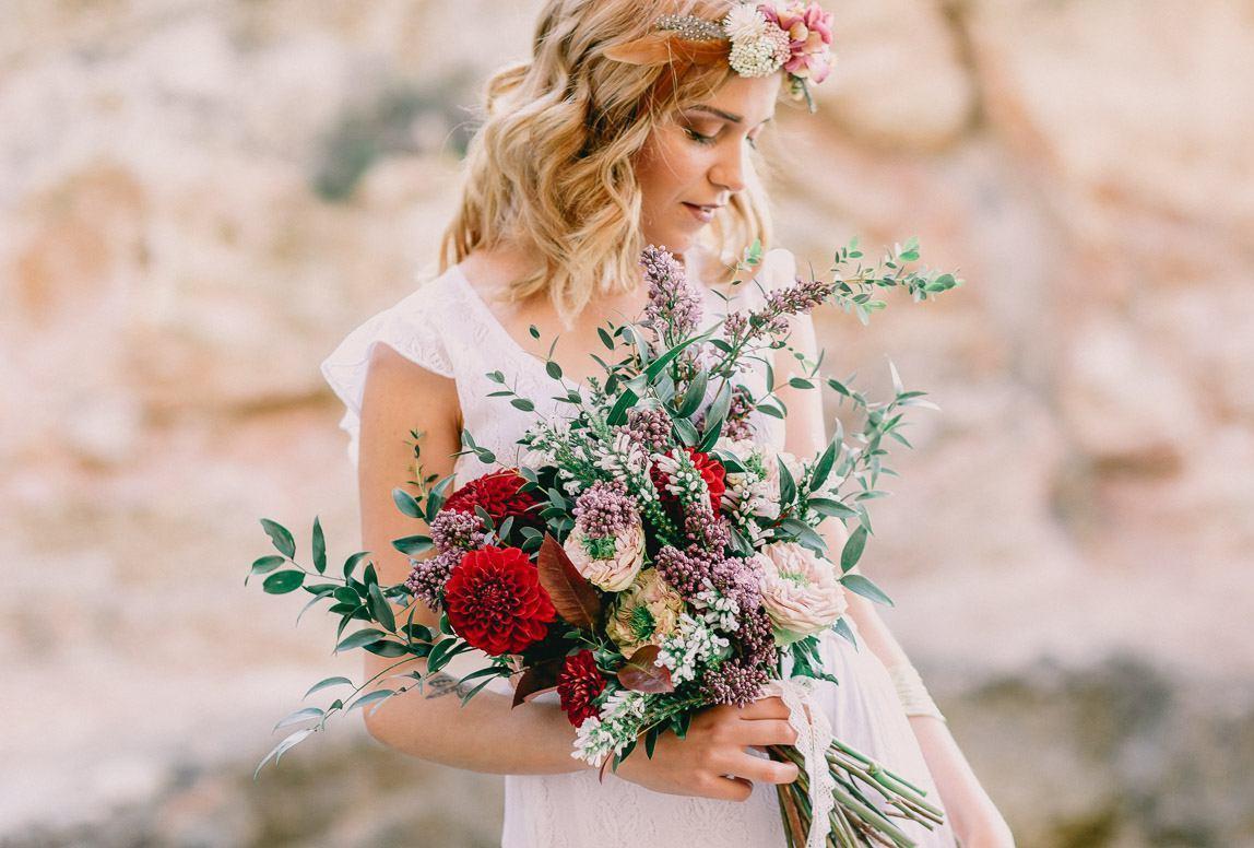 Braut bei After Wedding Shooting auf Mallorca - von deutschem Hochzeitsfotografm