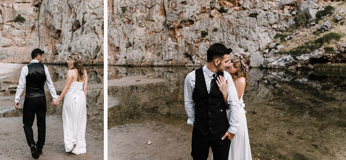 Fotoshooting am Stand auf Mallorca